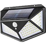 Luces Solares,114 LED Lámpara Solar Exterior Solar Luz LED,3 Modos 270 ° Lámpara Solar Exterior IP65 Impermeable Iluminación