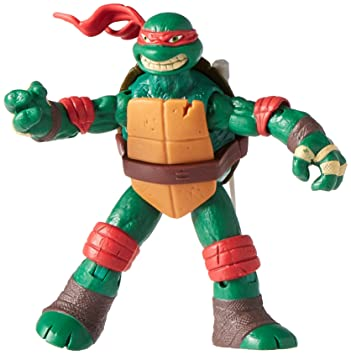 Teenage Mutant Ninja Turtles Raphael Action Figure: Amazon ...
