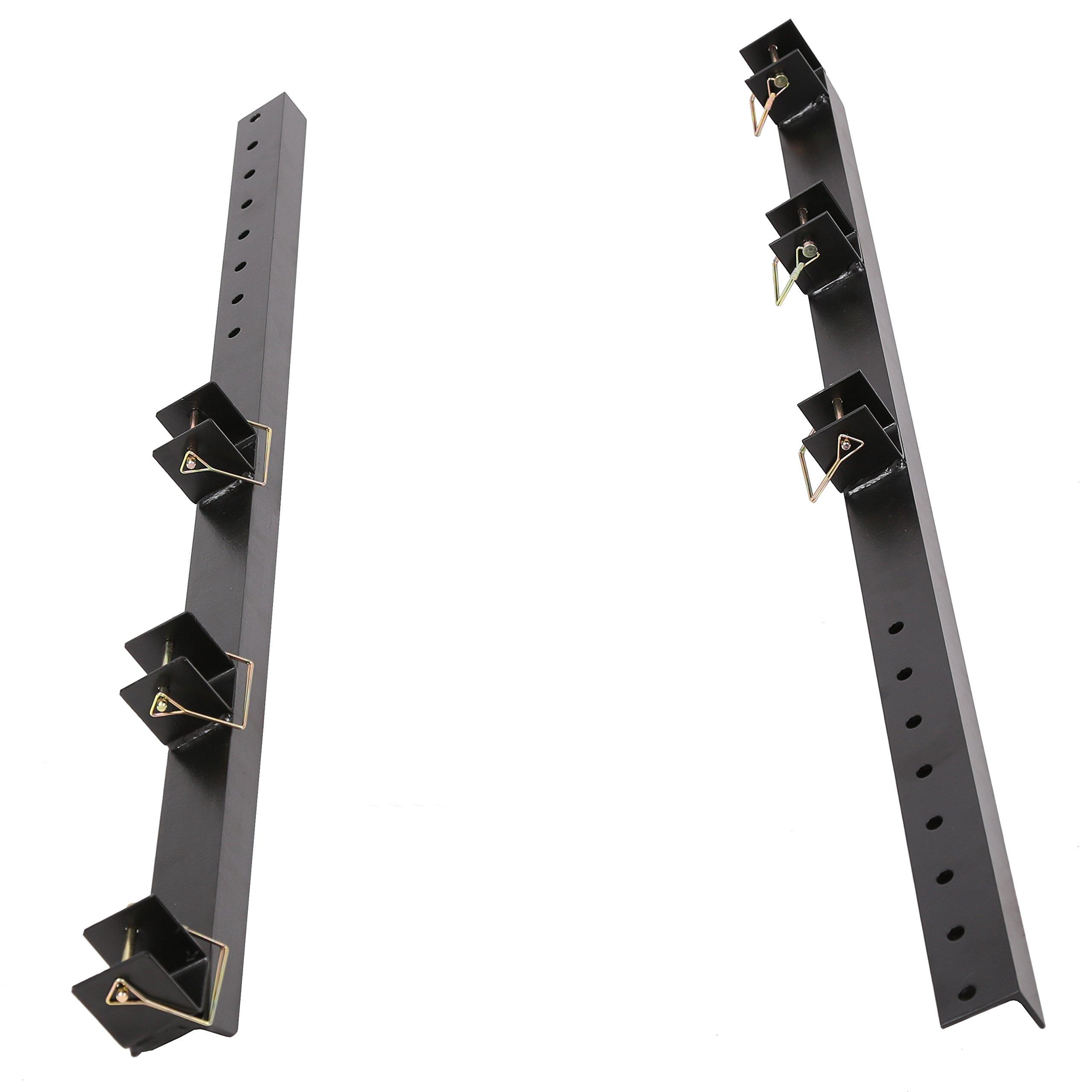 Heavy Duty Trimmer Rack holder Carrier mount on Pickup/Trailer For 3 Trimmer