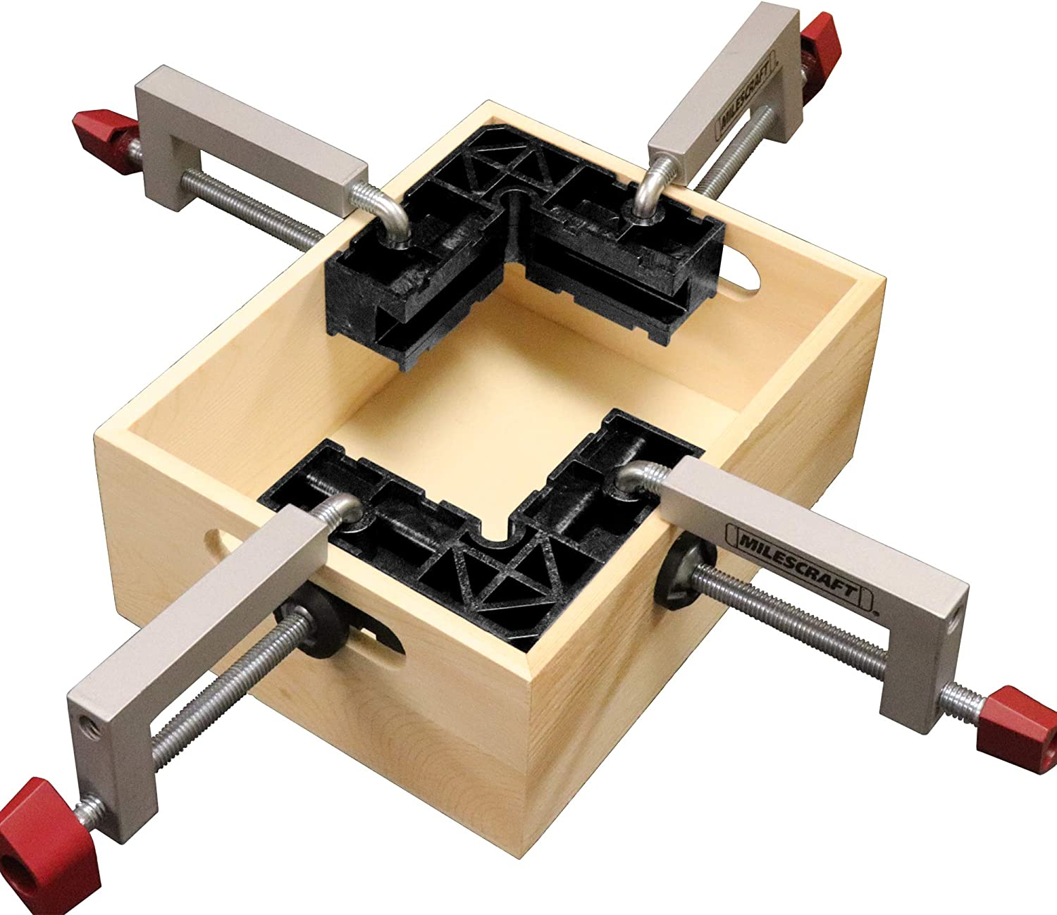 Positioning//Assembly Squares for Small Projects Jewelry Boxes Milescraft 4010 4 ClampSquares Etc Boxes