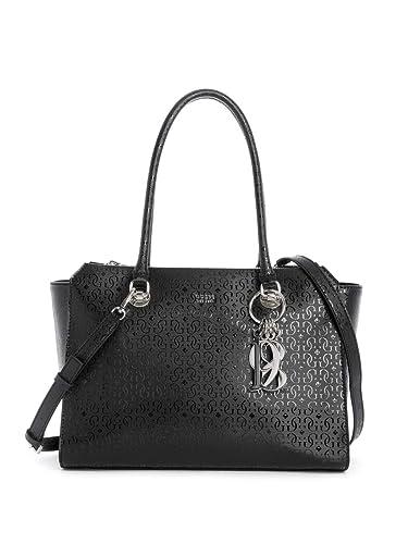 b11b2d50c5d86 Guess - Shopper TAMRA Society Carryall black