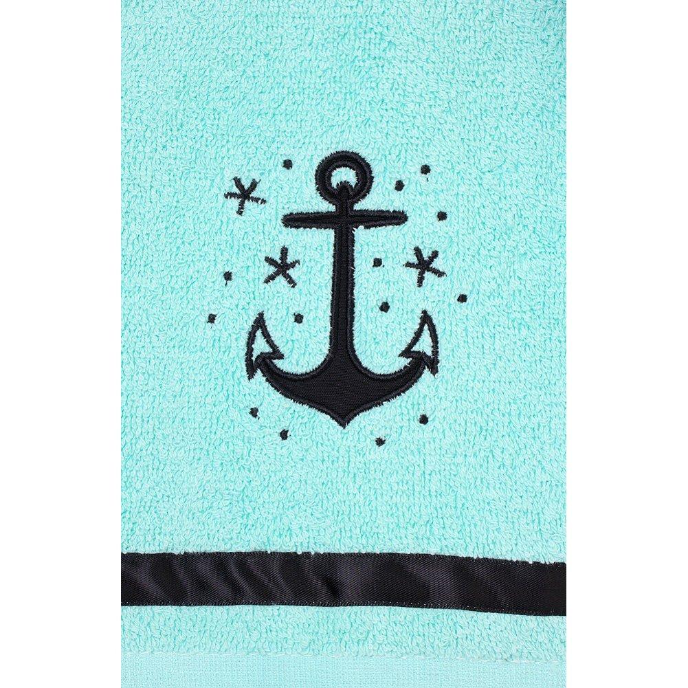Perfect Amazon.com: Sourpuss Clothing Anchor Bathroom Hand Towel Set: Home U0026 Kitchen