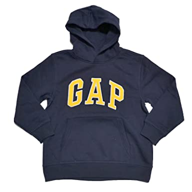 Amazon.com: GAP Boys Fleece Arch Logo Pullover Hoodie: Clothing