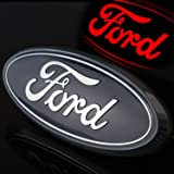 2004-2014 Ford F150 Truck Rear Tailgate 9″ Emblem Blue finish Licensed LED 6094--WITHOUT REAR CAMERA IN THE EMBLEM ONLY