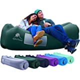 AlphaBeing Inflatable Lounger - Best Air Lounger for Travelling, Camping, Hiking - Ideal Inflatable Couch for Pool and…