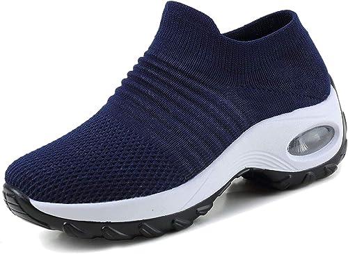 Zapatillas De Deporte Zapatos Respirado Ligero Malla Talla 35-42 ...