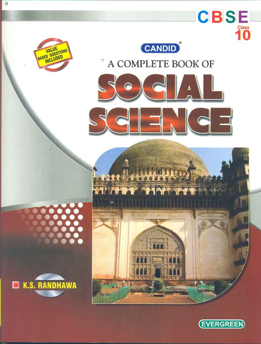 Candid A Complete Book of Social Science Class 10 - Vol. 1: Amazon.in: K.  S. Randhawa: Books