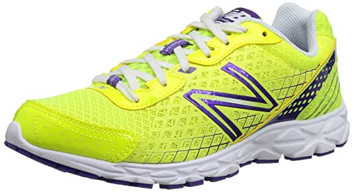 New Balance W590Yp3 - Zapatillas de running para mujer, color yellow/purple, talla 36.5: Amazon.es: Zapatos y complementos