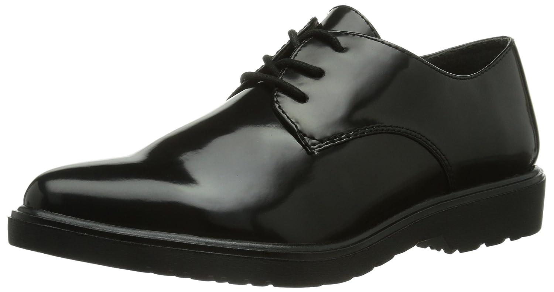 Tamaris 23309 - zapatos con cordones de material sintético mujer 41 EU|Negro - Negro