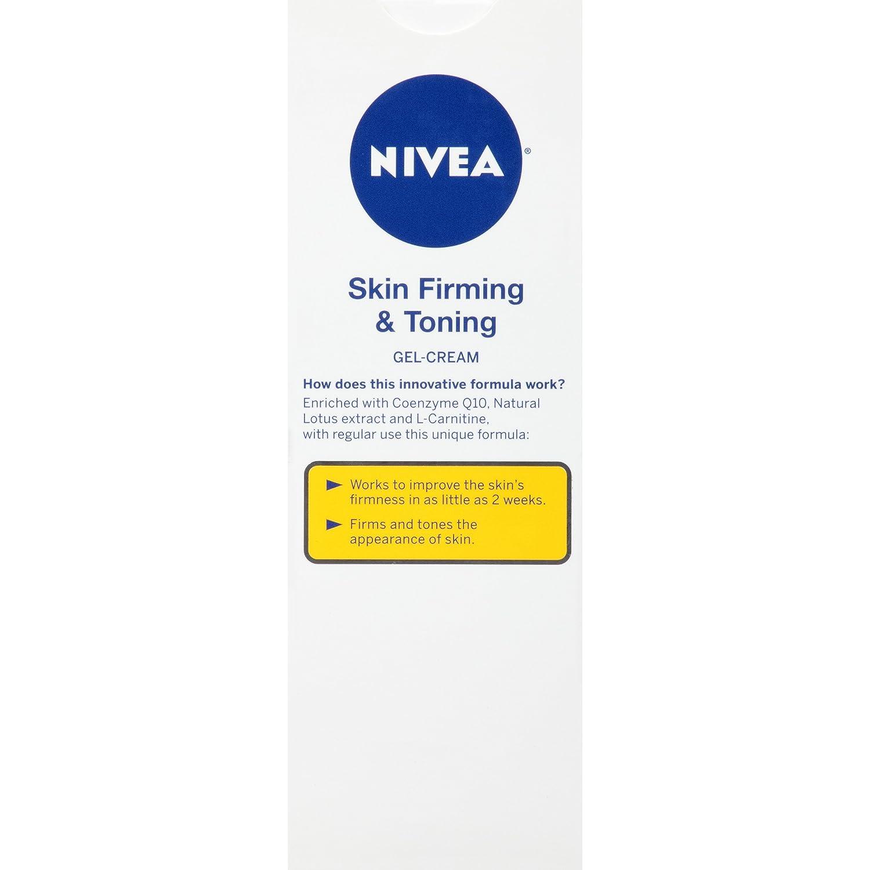 nivea skin firming & toning gel cream