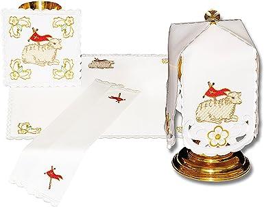 Gold Urbanowicz Calzoncillos bordados de la iglesia para una masa ...