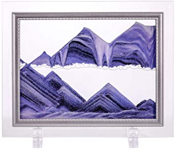 5c4910996 YayaCat Dynamic Sand Picture Medium (8.66 X 6.9, Purple) by YayaCat:  Amazon.in: Home & Kitchen
