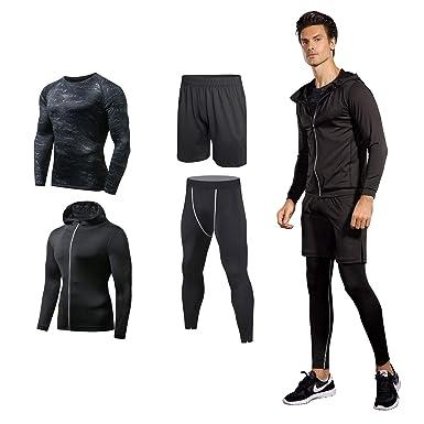 4cbaff2f11c Niksa コンプレッションウェア メンズ スポーツ ウェア 長袖/半袖 吸汗 速乾 加圧 保護 高