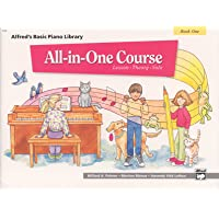 All-in-One Course for Children: Lesson, Theory, Solo, Book 1 (Alfred's Basic Piano...