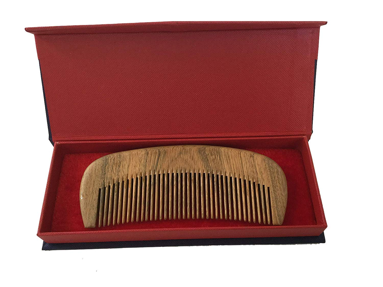 Jade Rosewood Comb, Precious Wood From Virgin Forest, Great Gift