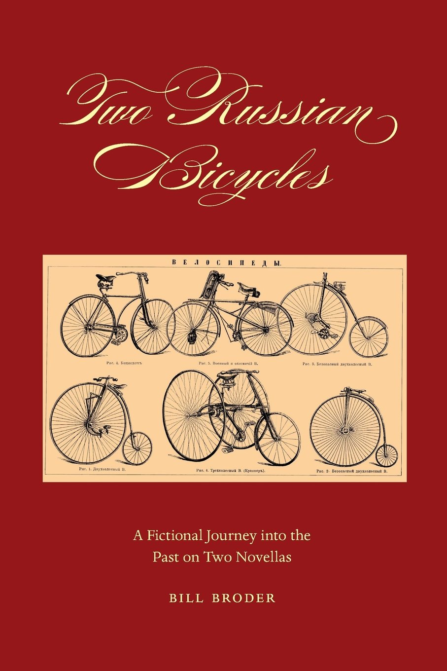 Read Online Two Russian Bicycles: A Fictional Journey into the Past on Two Novellas ebook