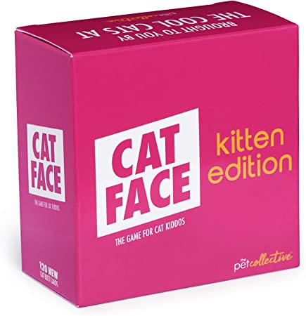 Cat Face Cat Meme Party Game - Kitten Edition Expansion Pack