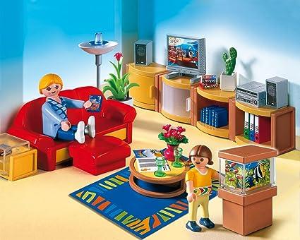 Amazon.de:PLAYMOBIL 4282   Sonniges Wohnzimmer