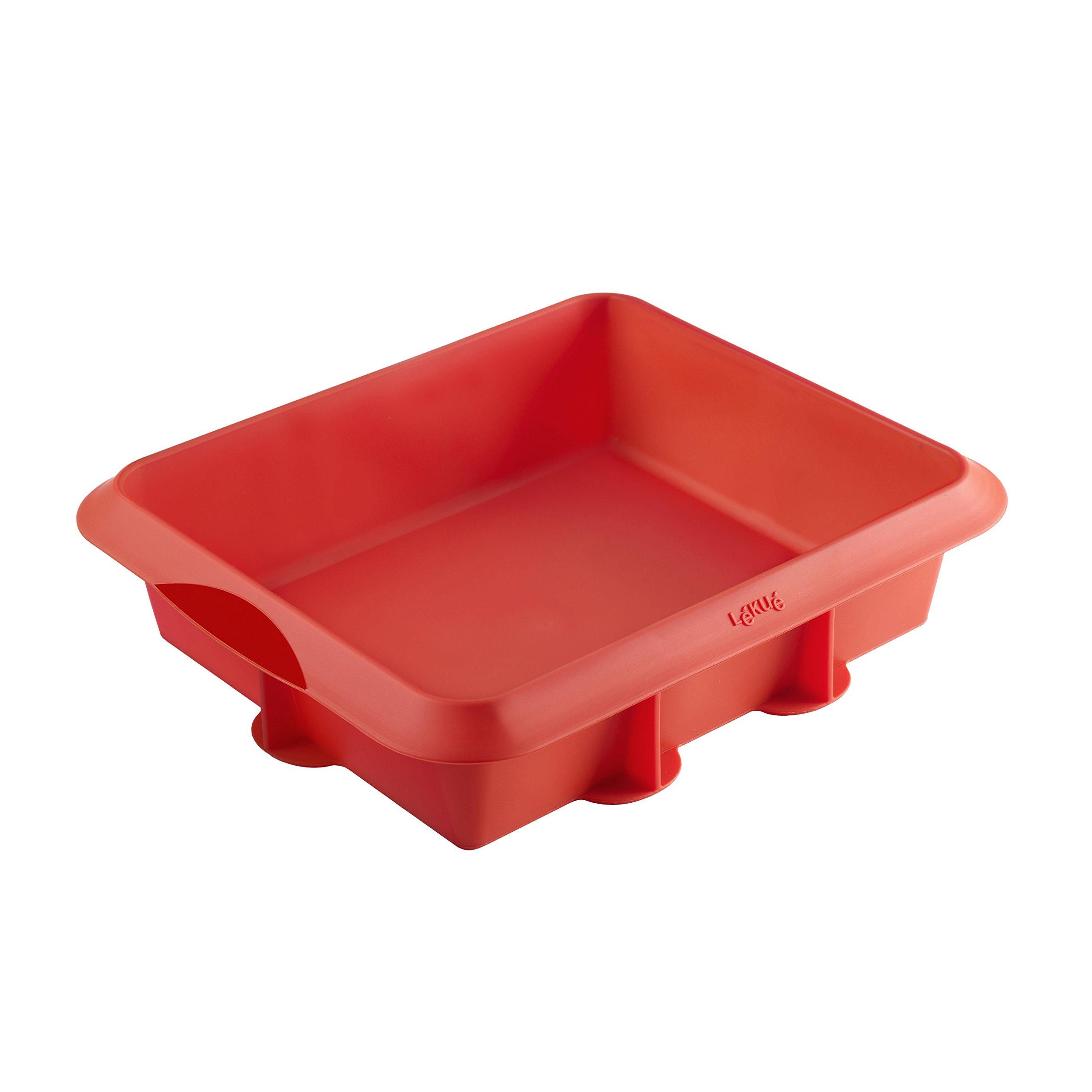 Lékué Classic - Molde para lasaña, color rojo product image