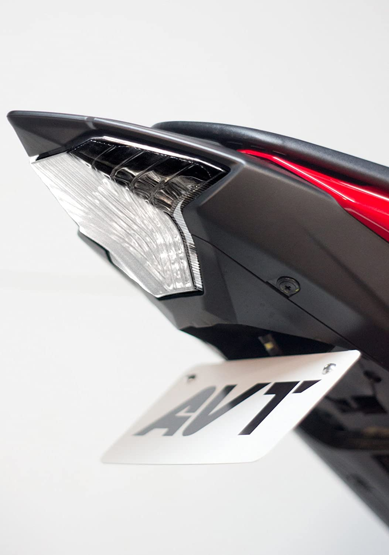 R3 LED Integrated Turn Signals Tail Light AVT YZF-R3 2015-2018 Fender Eliminator Kit