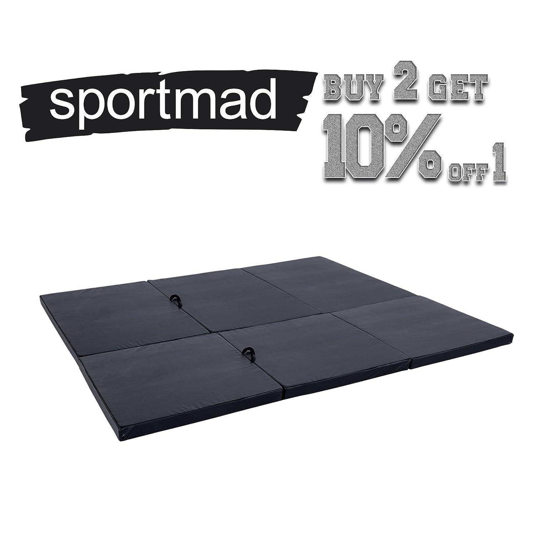 Amazon.com: sportmad 4 X8 x3/4 x6 x3 esterilla de ...