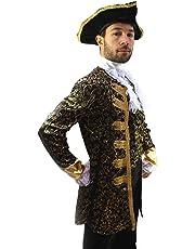 Kostüm Edelmann Pirat Kapitän Barock Herren Gr. 52 Pirate, Nobleman