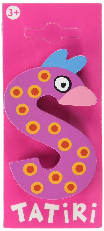 7 cm crazy bird Holzbuchstabe B ca