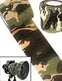 Outdoor Saxx - Camouflage Tarn-Tape | Gewebe-Band Wasserfest Mehrfach verwendbar | Kamera, Ausrüstung für Jäger, Angler, Fotografen | 4,5 m x 5 cm