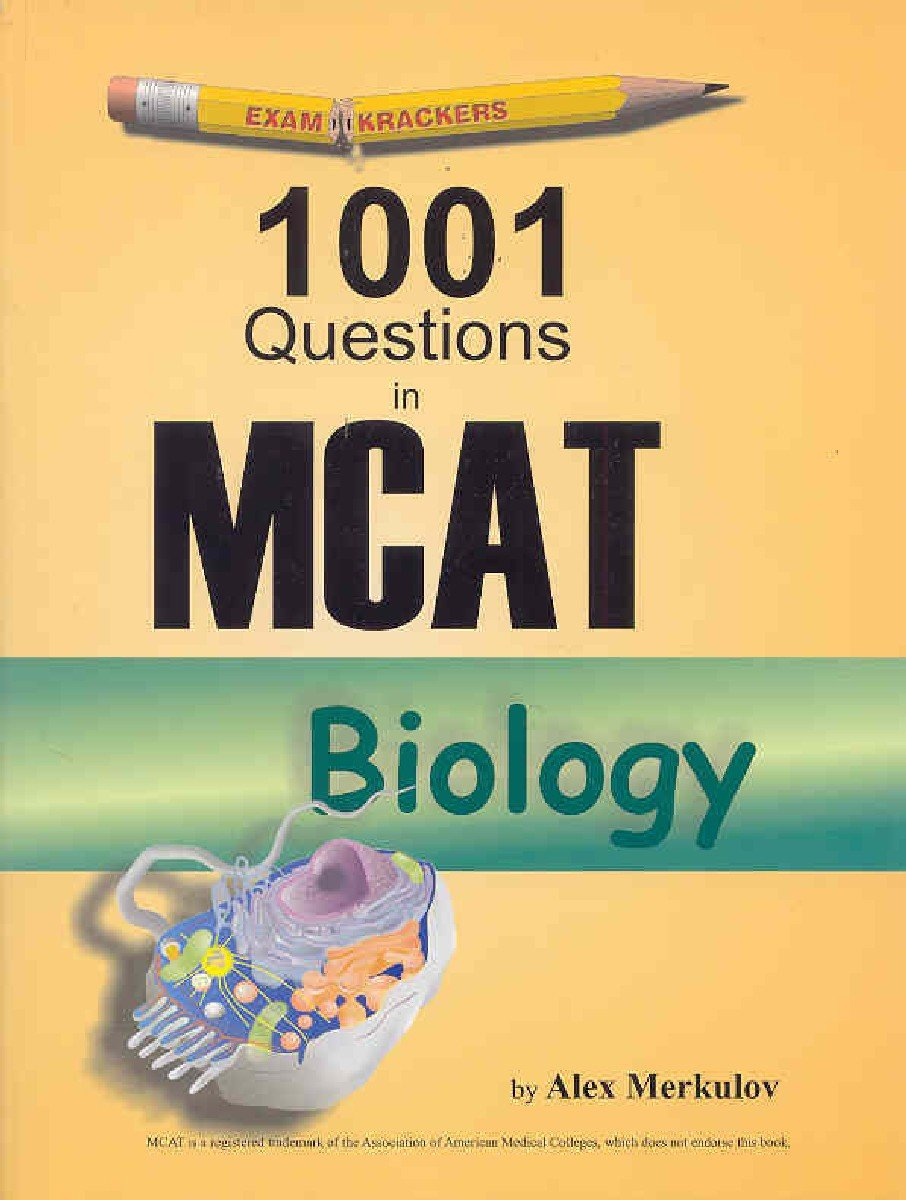 Buy Examkrackers 1001 McAt Biology Questions Book Online at Low Prices in  India | Examkrackers 1001 McAt Biology Questions Reviews & Ratings -  Amazon.in