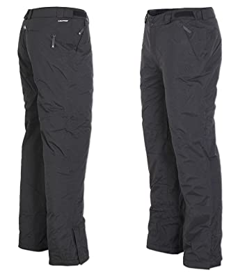 69c8123f adidas Men's Clima Prof Storm Snow Park Ski Pants Winter Sports Trousers -  Black - 48