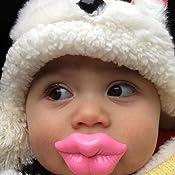 Amazon.com: Bebé infantil Chupete Dummy Pezones Funny ...