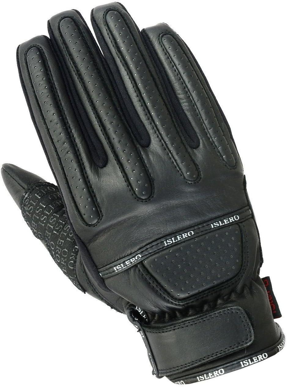 Islero All Weather Pure Leather Motorbike Gloves motorcycle Bike Working Wheelchair
