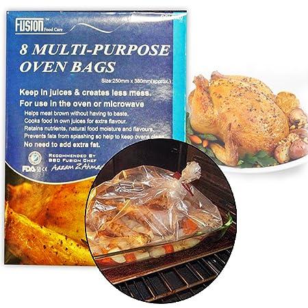 Fusion 8 Multi Purpose Horno Bolsas de Carne de Pollo asado de ...