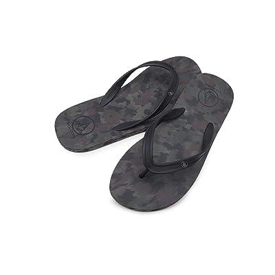 Volcom Men's Rocker 2 Solid Flip Flop Sandal: Shoes