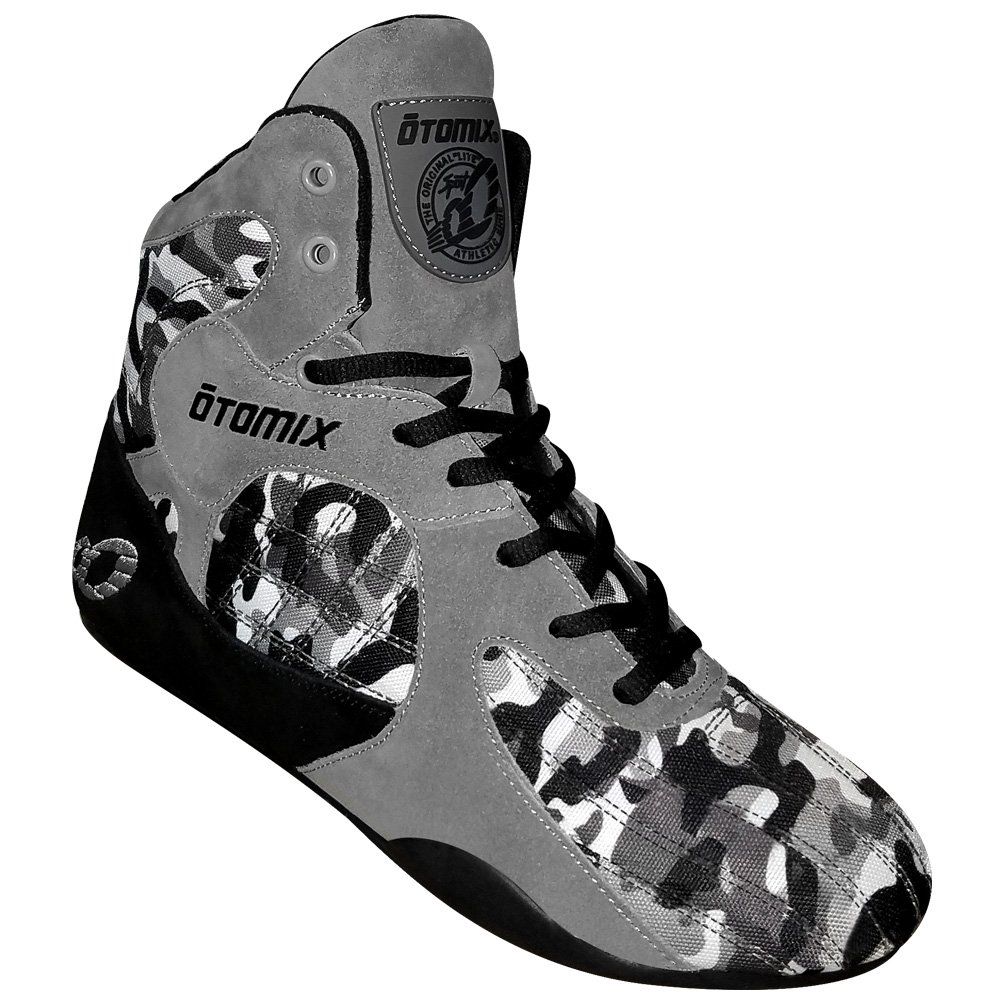 Otomix Grey/Camo Stingray Escape Bodybuilding Weightlifting MMA & Boxing Shoe M/F 3000