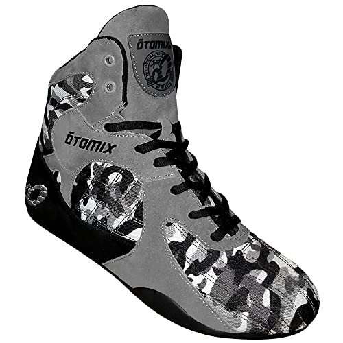 d8cddc6ad38a Otomix Grey Camo Stingray Escape Weightlifting   Grappling Shoe (6 Female)