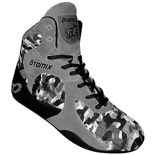 4038961c2142c Otomix Grey/Camo Stingray Escape Bodybuilding Weightlifting MMA & Boxing  Shoe (6 (Female