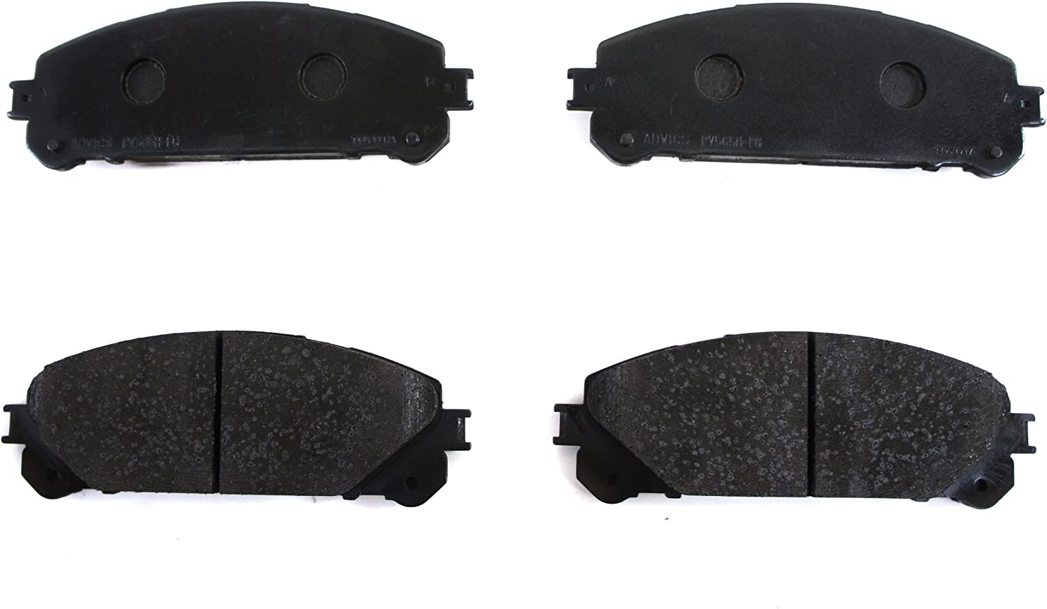 2008-2013 JPP HIGHLANDER  FRONT Brake Pads NEW genuine Toyota OEM 04465-48150