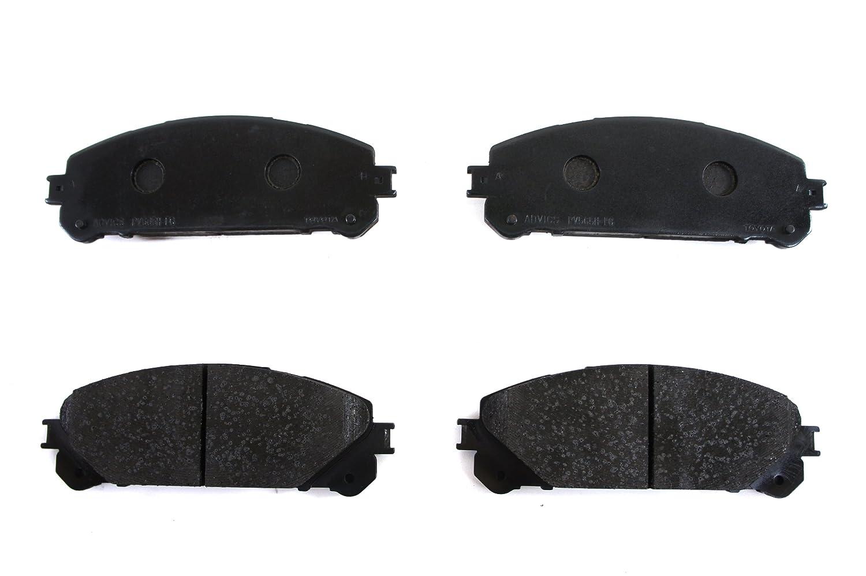 Toyota Brake Pads >> Toyota Genuine Parts 04465 48150 Front Brake Pad Set