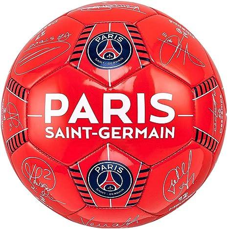 PSG - Balón de fútbol Oficial Paris Saint Germain Signaturas ...