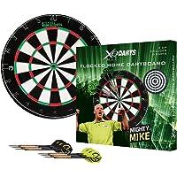 Michael van Gerwen flocked - dubbel zijdig - dartbord - dartset - inclusief dartpijlen