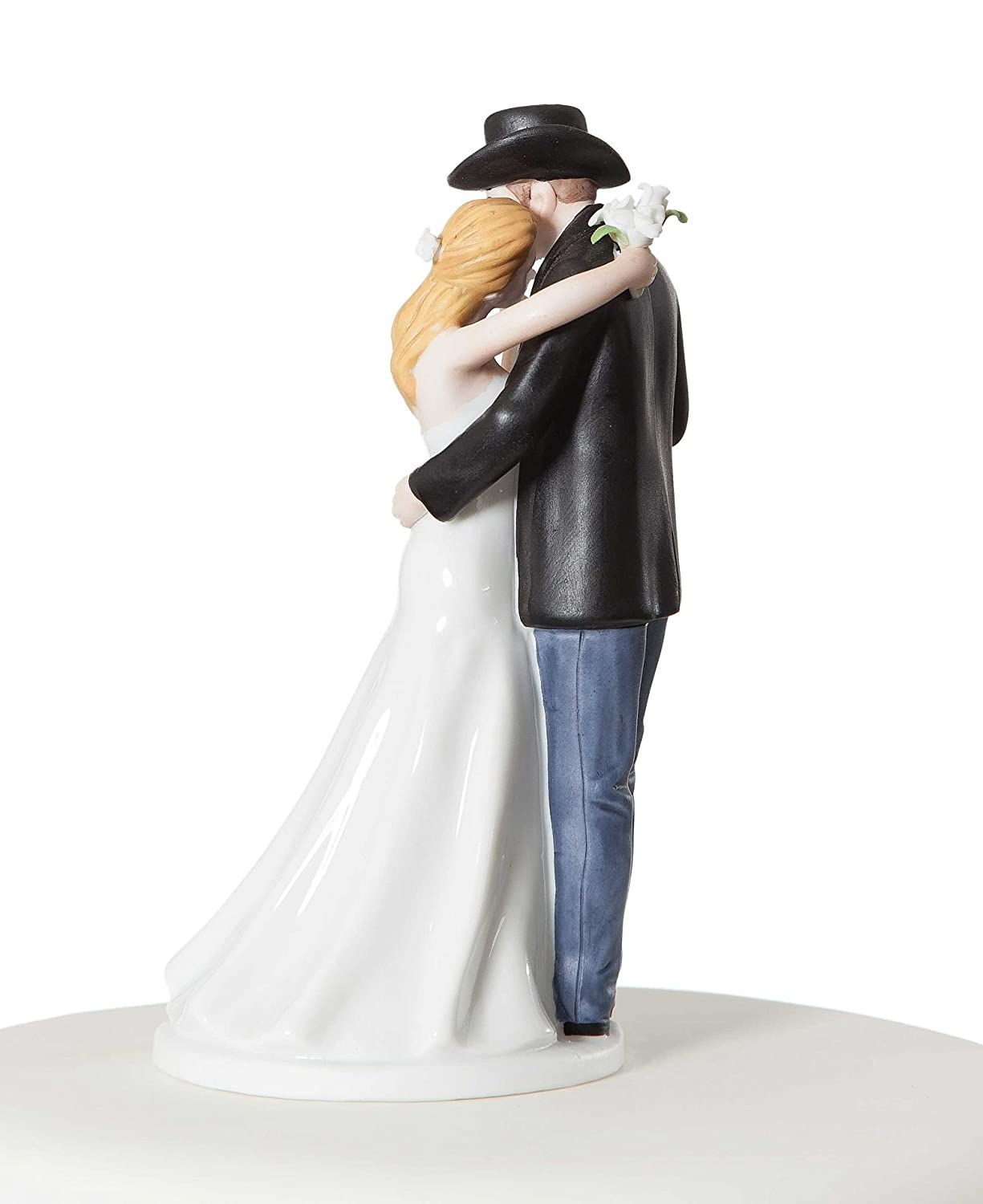 Amazon Wedding Collectibles Old Fashion Lovin Western Cake Topper Kitchen Dining