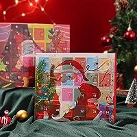 Advent Calendar 2021 Christmas Countdown Calendar Xmas Tree Snowman Jewelry Gift Boxes DIY Charm Bracelet Making Kit…