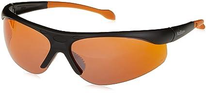 "Noblue azul bloqueo gafas de sol naranja/ámbar cristales tintados antirreflectante (incluye """