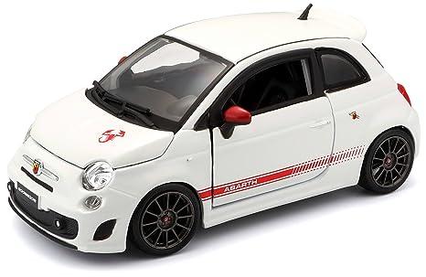 Amazon Com Fiat 500 Ss Abarth Diecast Model Car Toys Games