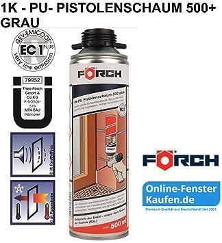 1 K Espuma de poliuretano Pistola 500 Plus gris 500 ml ...