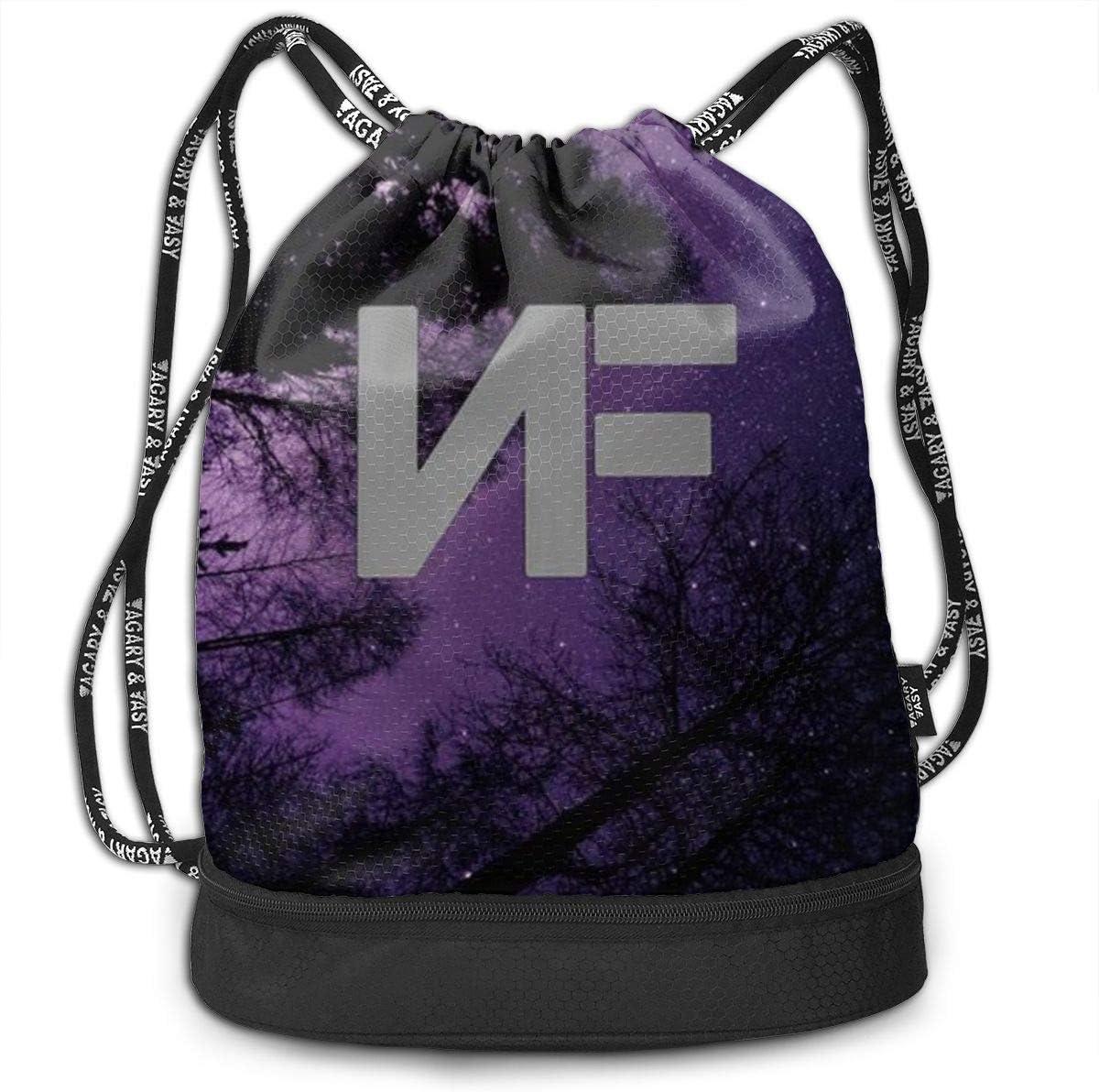 HUOPR5Q The NF Drawstring Backpack Sport Gym Sack Shoulder Bulk Bag Dance Bag for School Travel