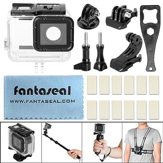 2 opinioni per Fantaseal Kit alloggio immersioni 8-in-1 per GoPro Hero 5 custodia impermeabile