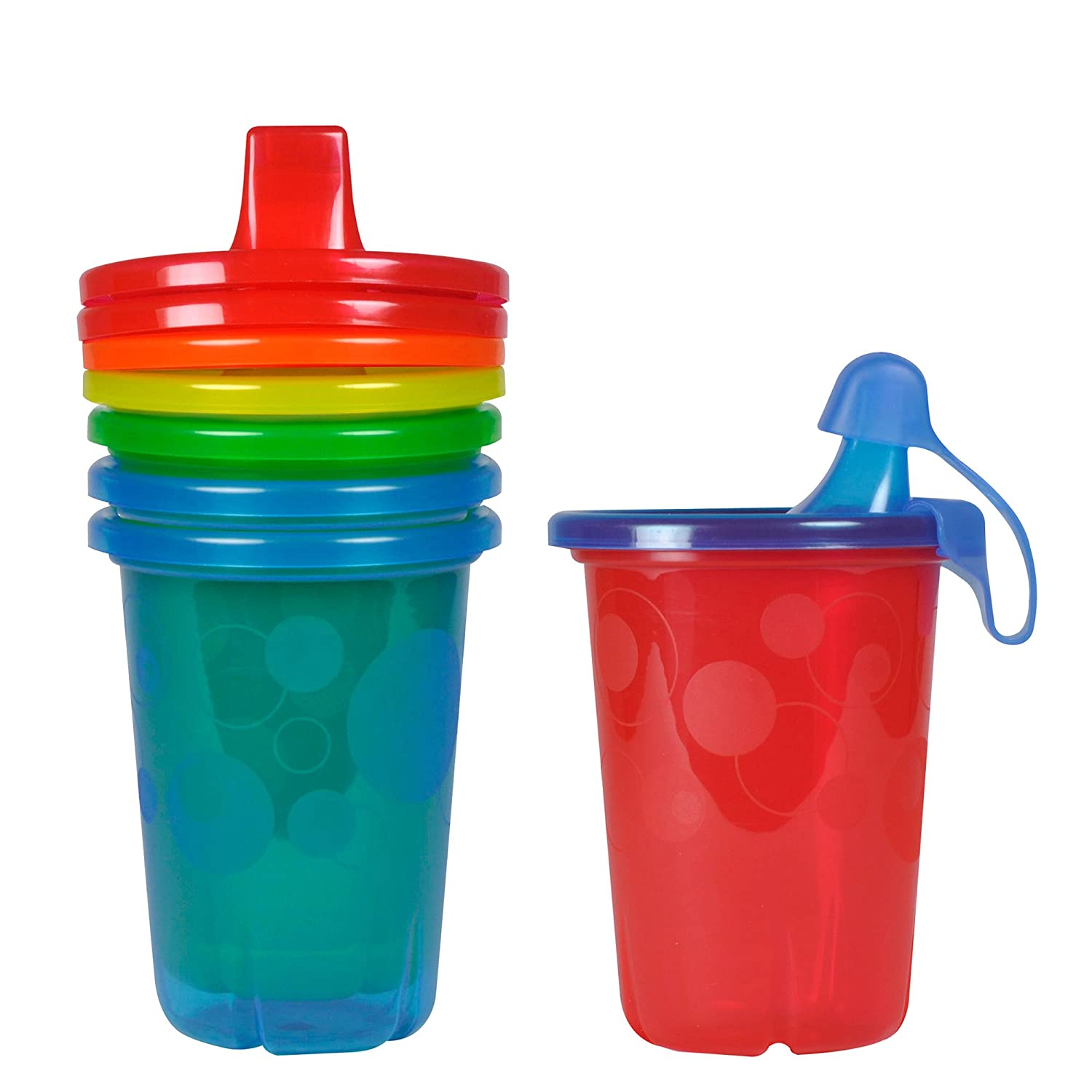 The First Years Y1176 10-Ounce Take And Toss Spill Proof Cups, Colors May Vary, 4-Pack Y1176MP