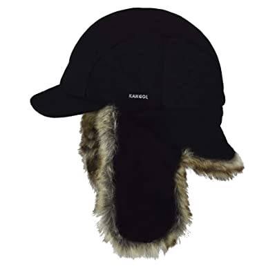 Kangol Men s Wool Aviator Trapper Hat at Amazon Men s Clothing store  aa7ccf6623f